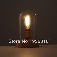 Edison table lamp bedroom lamp European retro creative ideas glass lamp = ST64 edison lamp bulb +Free shipping