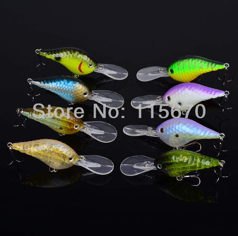 40pc Design Golf Ball Dimple Fishaing Lures Exported to USA Market Crank lures 11.5cm/23g fishing tackle Retail box FreeShip(China (Mainland))