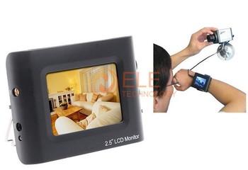 """2PCS/LOT 2.5"""" CCTV Test Monitor Portable CCTV Security Camera Tester CCTV LCD Monitor Testing Camera Video"""