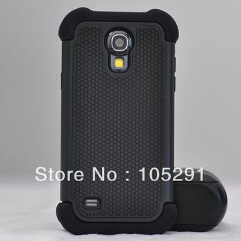 1Pcs 3in1 Tpu+Pc Football pattern Armor Case For Samsung Galaxy S4 Mini i9190+1 Free Screen Flim+1 stylus Pen