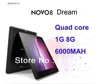 8 inch Original Ainol Novo 8 dream A9 Quad core 1024*768 FHD IPS multi touching cpu 1G 8G  dual camera  android 4 tablet pc