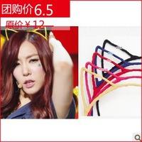 Fashion hair bands ribbon accessories jewelry hair pin hair accessory cat ears headband popular