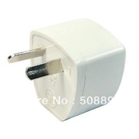 New 10pcs/lot 2-pin AU Travel Plug Power Adapter Converter White Free Shipping&Dropshipping