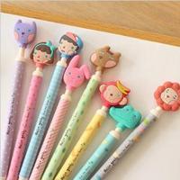 48pcs Hello Geeks Animal Series Ballpoint Pen,  3D Cartoon Ballpoint pen 0.5mm, Lovely Korea Stationery wholesale
