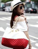 Women Bags 2013 women's leather handbag fashion dimond plaid women's shoulder Retro Bags Women Messenger Bag Vintage x0025