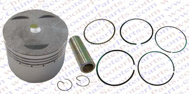 52.4mm 13mm 110CC Piston Ring Kit 3 Valve Pit Dirt Bike ATV Quad Parts(China (Mainland))