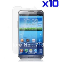 High quality 10pcs/lot Clear Galaxy Note 2 Screen Protector For Samsung Galaxy Note 2/ N7100 Screen Protective Film