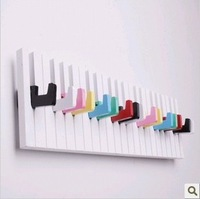 Free shipping Piano hanger wall shelf coatless door shelf after decoration coat hook towel rack