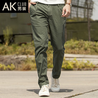 Ak men's clothing 2013 stripe trousers male casual pants trousers male casual trousers