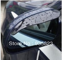 Free Shipping New 2PCS/Lot Car Rain Shield Rear View Side Mirror Shower Blocker Cover Sun Visor Shade Guard Flexible Plastic