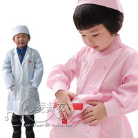 Child medical service child nurse clothes child small costume performance wear clothing