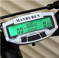 Discount ! Digital LCD Waterproof Bike Computer Bicycle Speedometer Odometer Velometer Accessories Backlight with 28 Functions