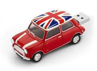 LU271 Wholesale Hot Cartoon Mini Car model 2-32GB USB 2.0 Flash Memory Stick Drive Thumb/Car/Pen(China (Mainland))