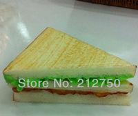 Free shipping 2pcs/lot high artificial bread Hamburger shop market decorations artificial cake
