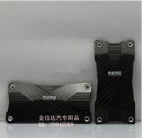 Momo pedal f1 foot pedal general carbon fiber foot pedal modified car accelerator pedal
