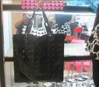 new year Issey miyake puzzle women's handbag shoulder bag 5798 bags black  hot sale