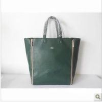 Free delivery service: 2013 new fashion leather handbag