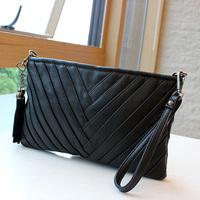 2013 fashion multifunctional bag tassel small bags one shoulder handbag messenger bag all-match women's handbag