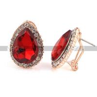 Free shipping fashion jewelry  Women Crystal Earrings Wholesale