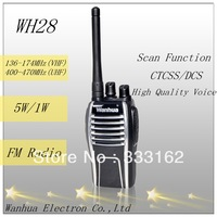 Professional FM transceiver with high quality voice design FM radio built-in CTCSS/DCS used for hotel and bar, ktv ham radio