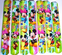 hot sell !! 2013 popular MIXED COLORS  Mouse Magic Ruler Slap Band Bracelets / bangles