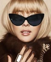 Best Selling!New arrive super popular womes cat eye sunglasses 2pcs/lot free shipping