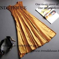 Luxury limited edition ! europe the goods knitted autumn and winter full dress one-piece dress t417