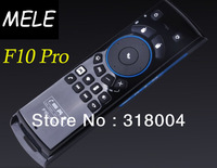 New arrival brand Mele F10 Pro wireless air mouse motion sensing game remote control 3 years warranty free shipping