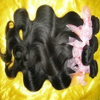 Best Malaysian VIRGIN hair 4pcs/lot,natural body wave,no tangles&no nits,steam processed,mac makeup!!