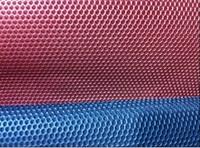 Sandwich gauze hexagonal mesh cloth car seat covers fabric cap bedding fabric