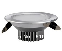 Free shipping Crystal Steel Series LED Downlight 5W Warm White