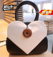 2013 heart bag heart bag love bag heart bag shoulder bag messenger bag mini bags women's handbag small bag