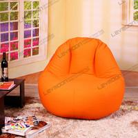 FREE SHIPPING adult bean bag chair 100CM diameter oversized bean bags 100% cotton canvas large bean bags