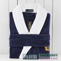 Hilift bathrobes 100% quality thickening cotton terry bathrobe towel bathrobe robe winter sleepwear