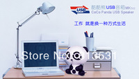 Free DHL 2013  MK502 Speaker Fashion China's panda  Speaker for iphone/ipod/ipad/mac mp3/mp4