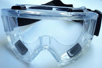 Free shipping Big goggles anti-fog protective glasses