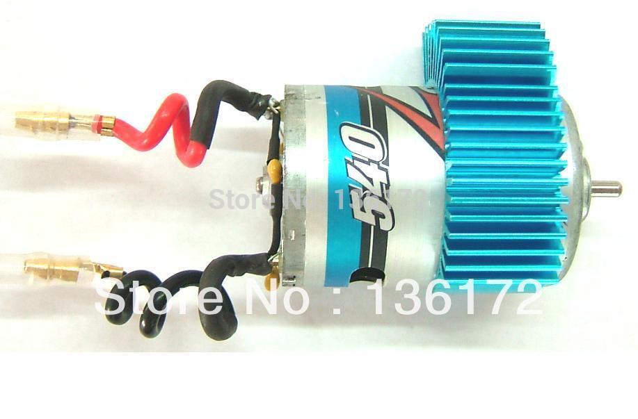 Henglong 3851-1 1/10 rc electric lightning racing car parts 540 Brush Motor free shipping(China (Mainland))