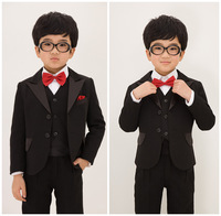 Male child suit formal dress male wedding flower girl child male child set blazer set