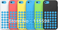 2013 Hot new design for iPhone 5C Original Silicon Case Cover 6 Colors Available Free DHL/Fedex/EMS Shipping 100pcs/Lot