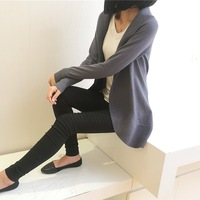 Free Shipping Hot-selling 2013 Autumn And Winter Women's Slim Medium-long Female Cardigan Sweater Thin Cardigan