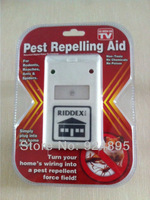 Free Shipping 300pcs/lot Electronic Riddex Pest Control Pest Repelling Aid Pest Killer As Seen On TV 110V/220V