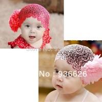 3pcs Baby girls Pink hair accessories Headband, baby headwear, infant hairband, child hair band, Baby Headdress