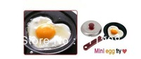 Free Shipping, We Best, Mini Lovely Heart-Shaped Egg Frying Pan, cook pan + cover, Non-Stick Wholesale price