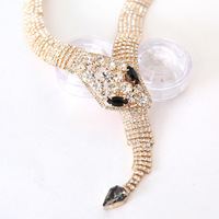 Free shipping Wholesale -2013 Ultra- fine smugglers snake chain necklace personalized very fashion