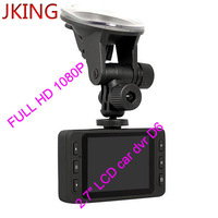 "FULL HD 1080P car video recorder with 140 degrees ultra wide angle lens,2.7"" LCD car dvr D6 Night Vision"