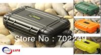 2013 multifunctional first aid emergency mini phone pad tool Watertight Cases Waterproof Plastic box Watertight box Dry