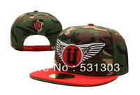 Newest Unkut Wings Snapback hats camo red white wrings UN07 men & women's classic adjustable caps