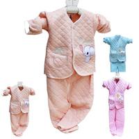 Baby thermal underwear set 100% cotton newborn clothes 100% cotton thickening underwear spring and autumn