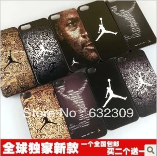 New Arrival Free Shipping Basketball Design Hard Plastic Phone Back Case Cover for Apple iPhone 5 5S 5C kobe jordan(China (Mainland))