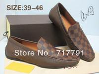 2013 New Flats For Men Brand Designer Genuine Leather Business Men Shoes Fashion Dress Shoes for Wedding Formal Oxfords Shoes
